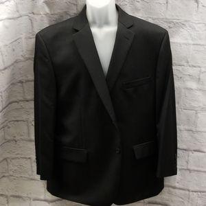 Charcoal Black Suit Coat Jacket Blazer Size- 48S
